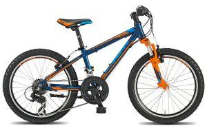 ktm fahrrad gelb blau